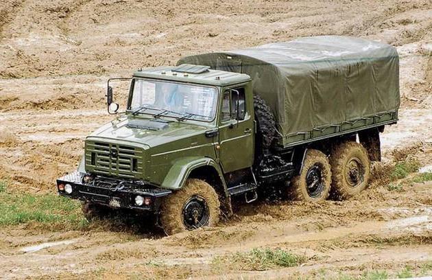 Фото - 4334 ЗІЛ - надійний середньотоннажний автомобіль з колісною формулою 6 х 6