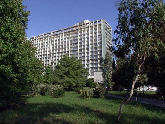 готелі Адлера біля моря