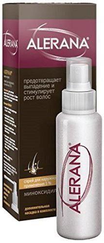 Алерана alerana спрей проти випадіння волосся