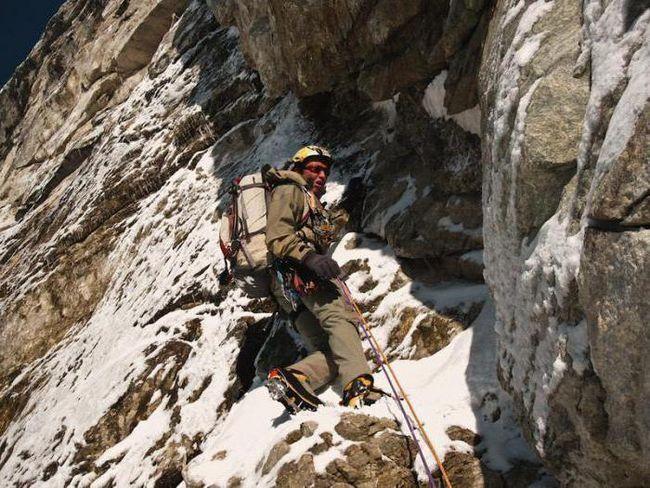 Денис Урубко - альпініст