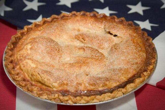американський яблучний пиріг рецепт