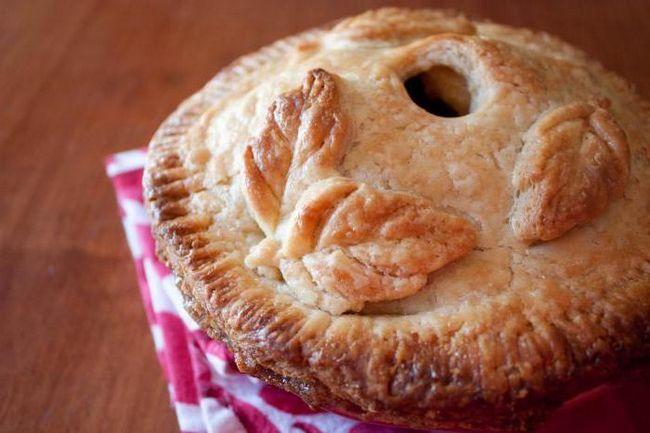 рецепт великого яблучного пирога по американськи