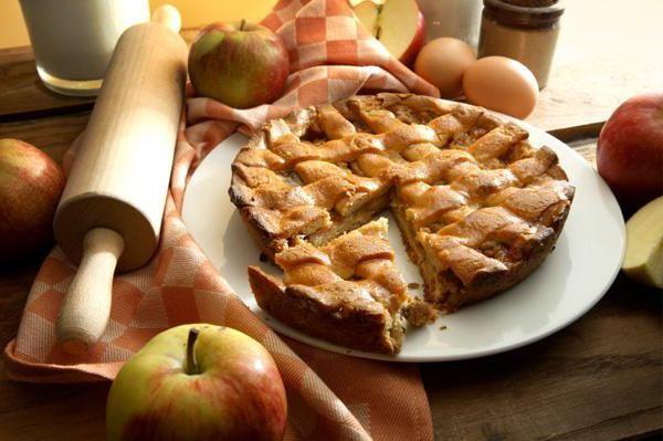 американський яблучний пиріг покроковий рецепт