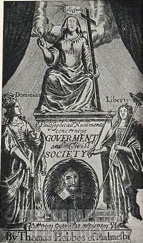 Томас Гоббс біографія