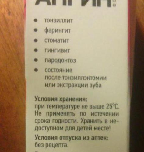 спрей антіангін інструкція