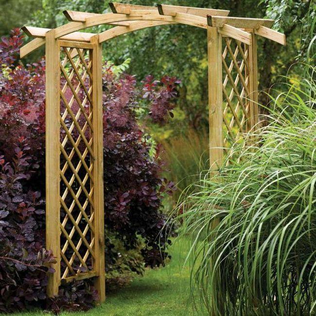 арка для саду