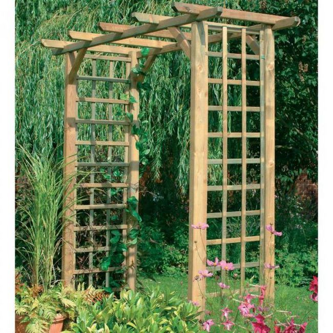 арки для саду своїми руками