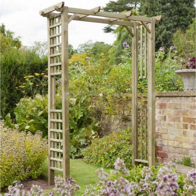 перголи арки для саду