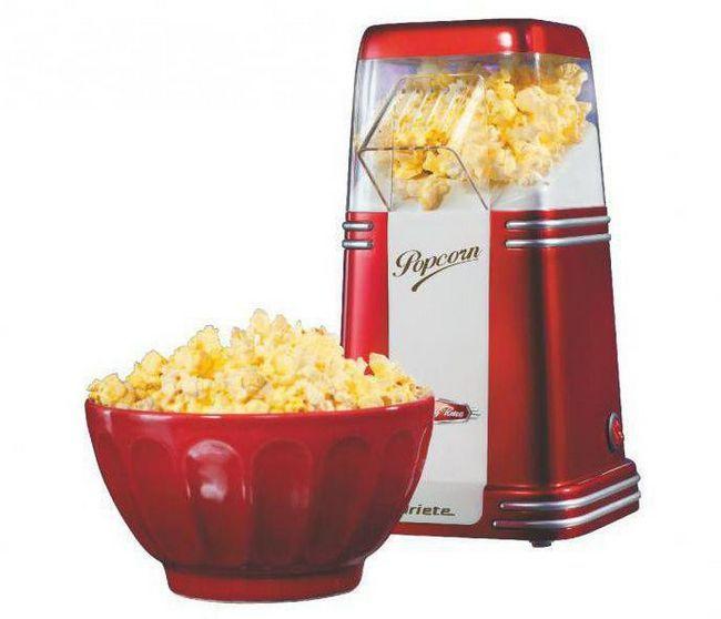 обладнання для попкорну