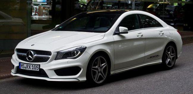 Фото - Автомобіль Mercedes CLA 200: технічні характеристики, комплектації, відгуки