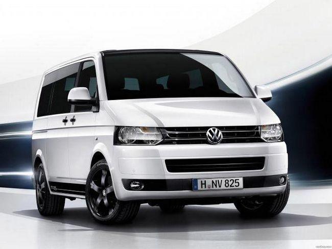 volkswagen transporter t5 технічні характеристики