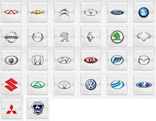 марки машин, представлені в автосалоні фінавто