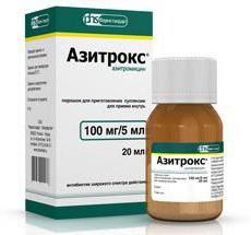 Азитрокс суспензія