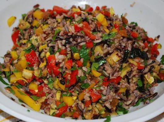 Баклажани з рисом на зиму: рецепт