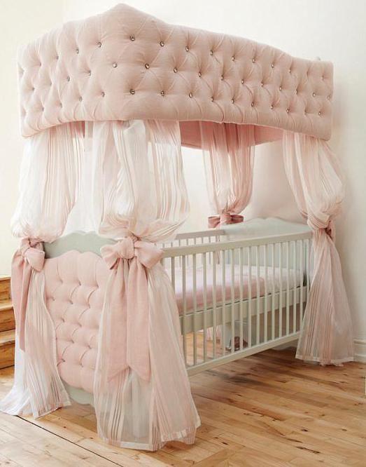 балдахін для ліжечка для новонароджених
