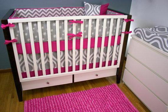 викрійка балдахіна на ліжечко для новонароджених