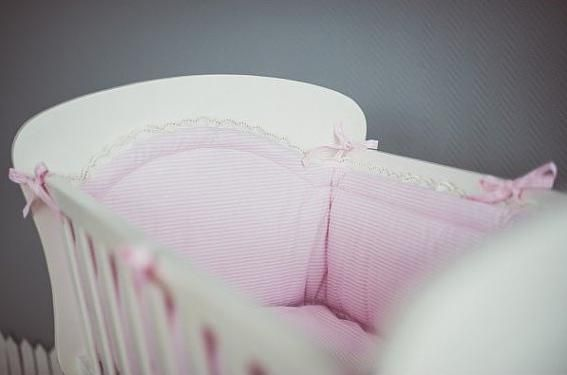 захист і балдахін в ліжечко для новонароджених