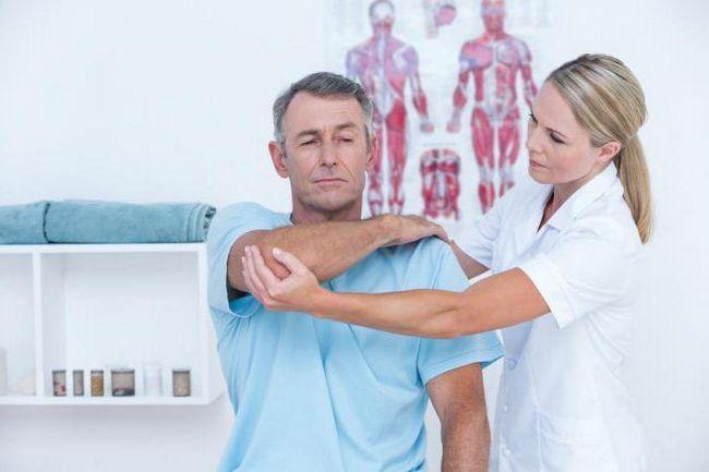 ниючий біль в плечовому суглобі правої руки