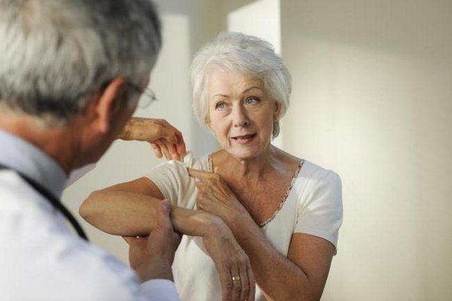 біль в плечовому суглобі правої руки причини