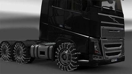 браслети протиковзання своїми руками на вантажівках