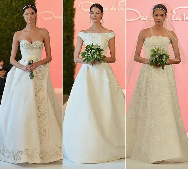 оскар де ла рента весільні сукні