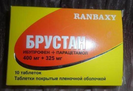брустан інструкція із застосування таблетки
