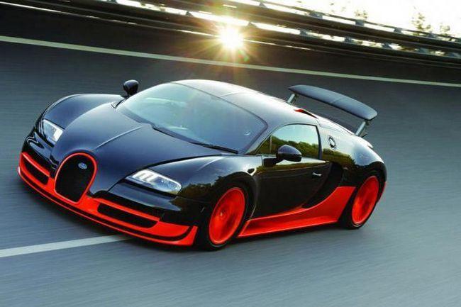 ціна і технічні характеристики bugatti veyron