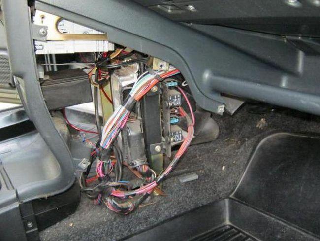 Швидка заміна радіатора отопітеля ВАЗ 2109