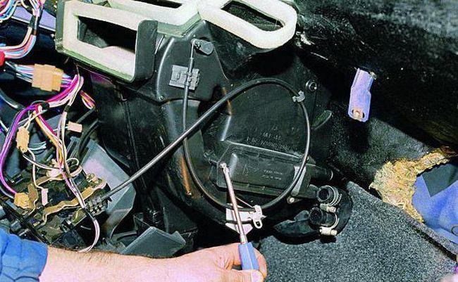 Заміна радіатора грубки на ВАЗ 2109 інструкція