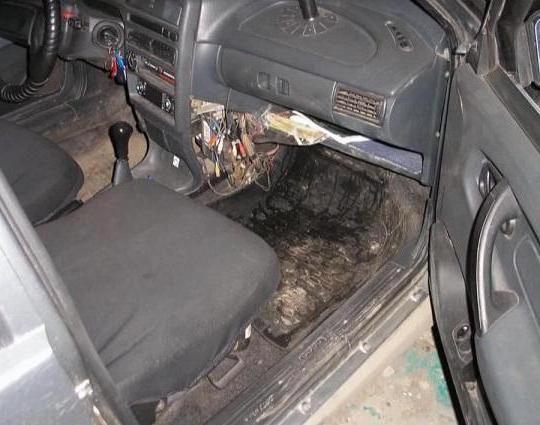 ВАЗ 2109 заміна радіатора грубки своїми руками