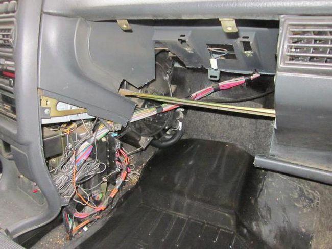 Заміна радіатора нагрівника без зняття панелі ВАЗ 2109