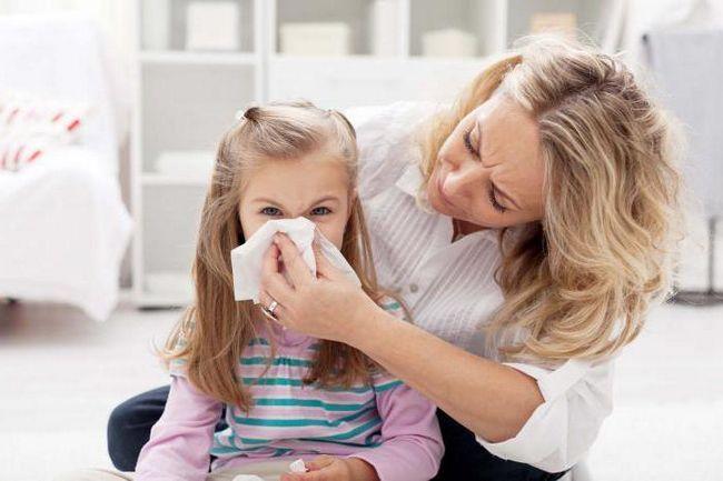 прозорі соплі у дітей