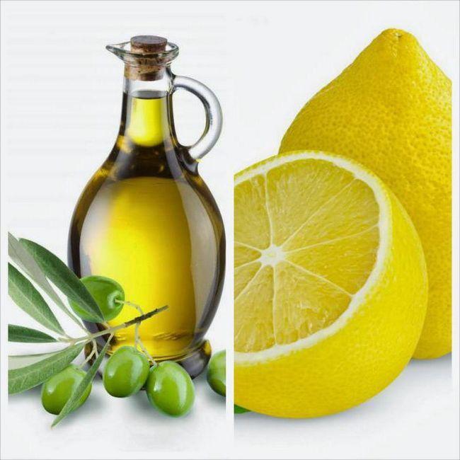 чищення печінки оливковою олією і лимонним соком фото