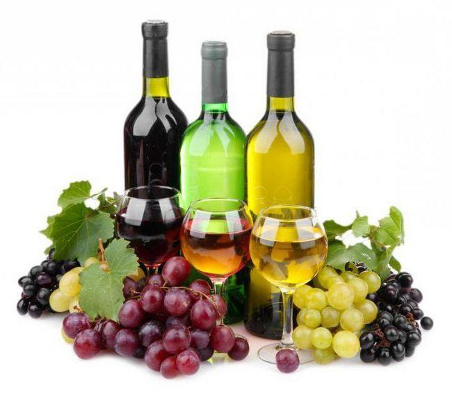 сухе вино з винограду