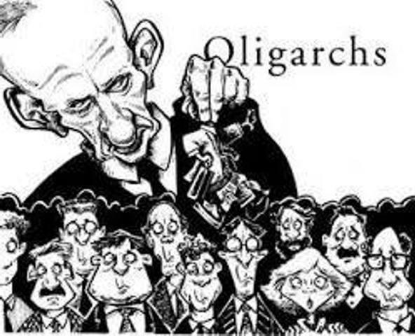 закон олігархії