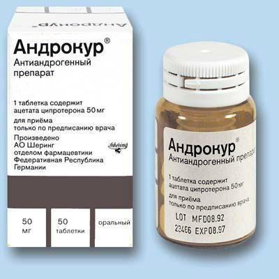 препарати містять ципротерону ацетат
