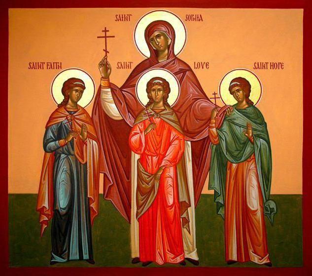 Фото - День ангела: Віра, Надія, Любов і Софія. історія свята