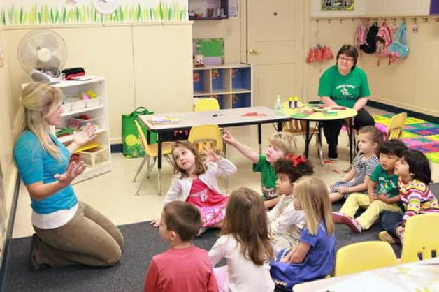 день дошкільного працівника в дитячому садку