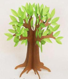 дерево саморобка