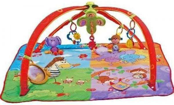 розвиваючий килимок tiny love різнобарвне сафарі