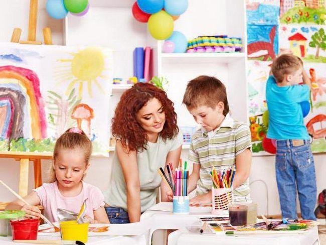 дитяча розвага в дитячому садку
