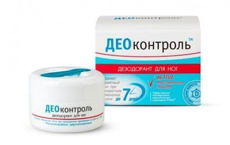 дезодорант део контроль для ніг