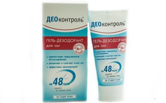 део контроль дезодорант для ніг відгуки