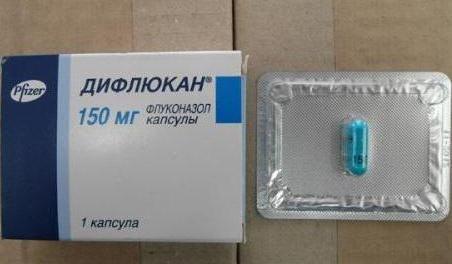 дифлюкан таблетки