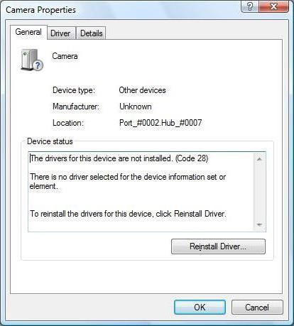 Фото - Для пристрою не встановлений драйвер (код 28): що робити?