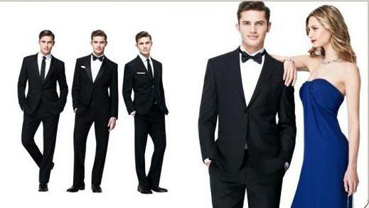 black tie дрес код для чоловіків