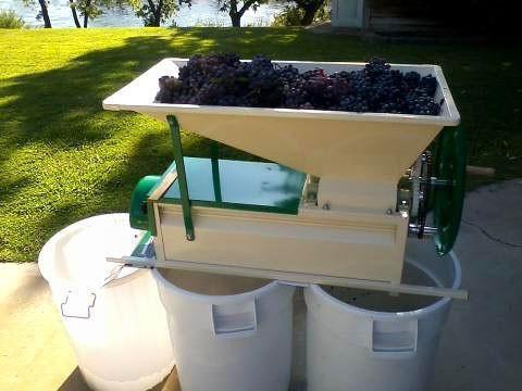 дробарки для винограду