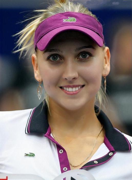Фото - Олена Весніна - російська тенісистка