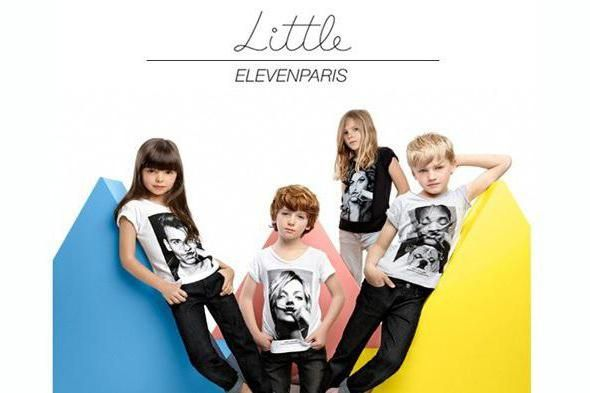little eleven paris для дітей