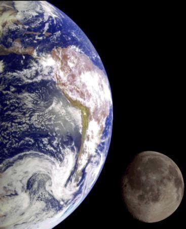 скільки природних супутників у землі